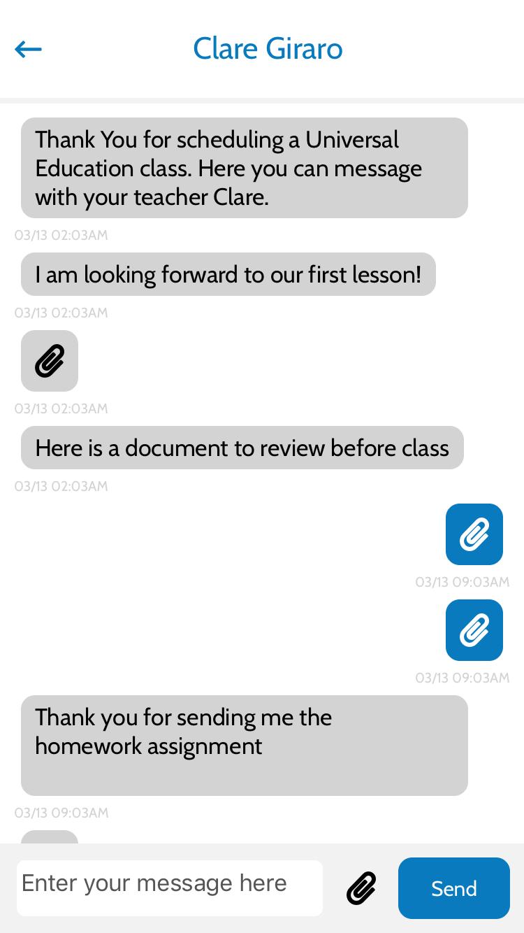 Class App Screenshot 4